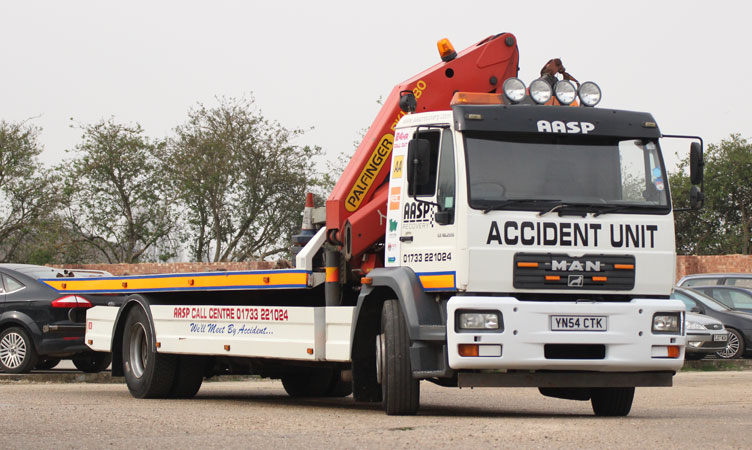 MAN 18 Ton Accident Recovery Unit