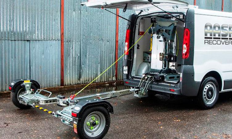 Vauxhall Vivaro Roadside Assistance van with VRS