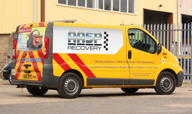 Vauxhall Vivaro Roadside Assistance Van
